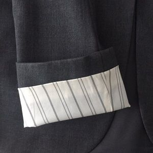 Theory Charcoal Grey Blazer